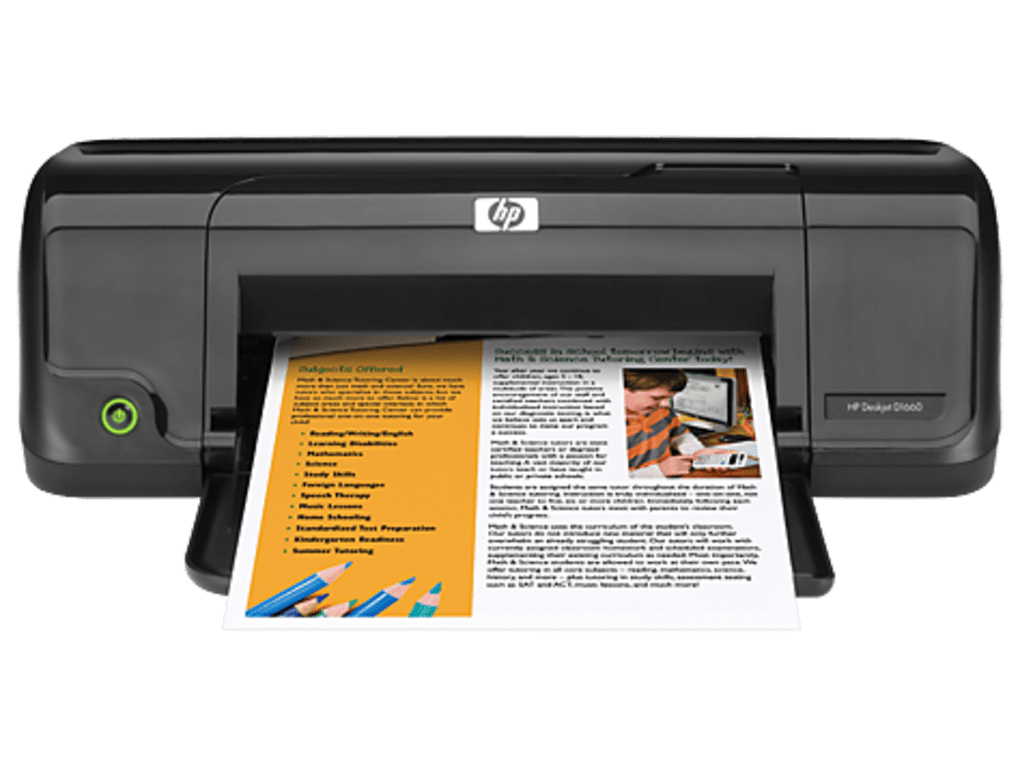 IMPRESORA HP DESKJET D1660 DRIVERS WINDOWS XP