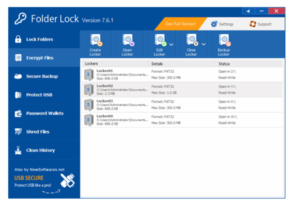 folder lock free download for windows 8