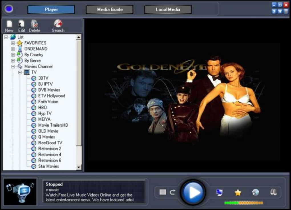 online tv player free download