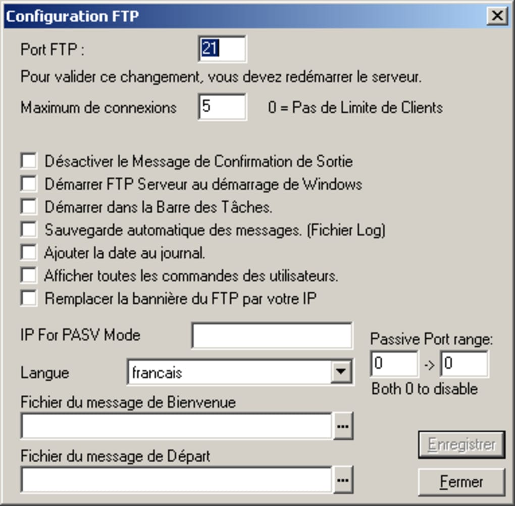 typsoft ftp server franais