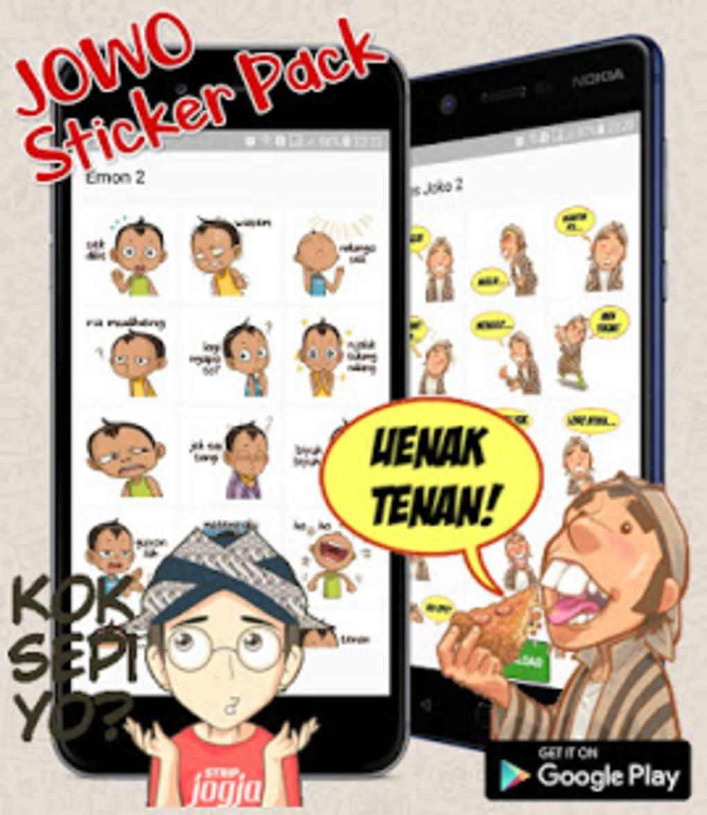 Jawa Sticker Wa Sticker Apps Jowo Lucu Sticker Apk Untuk Android