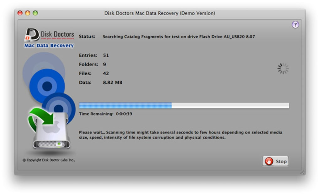 disk doctor mac data recovery