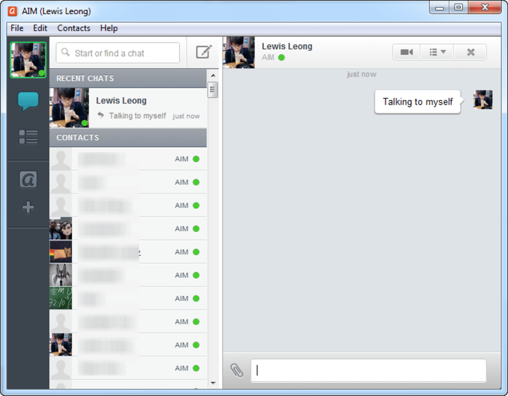 downloading aim messenger