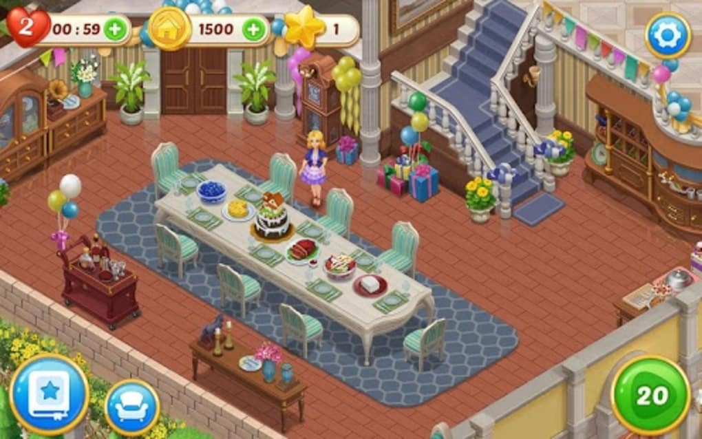 Matchington Mansion Match 3 Home Decor Adventure Apk For Android Download