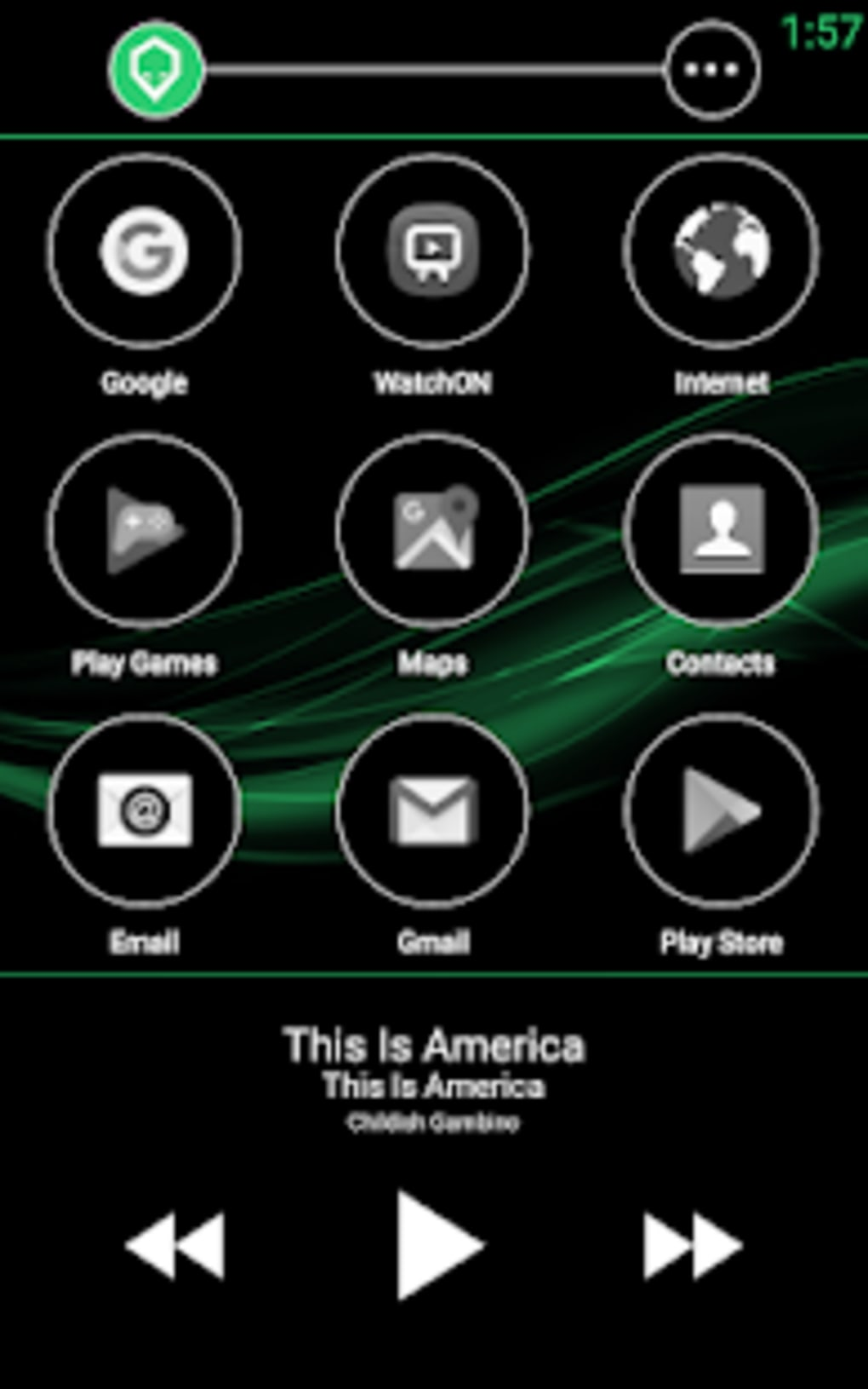 Brainiac Car Launcher for Android - Download