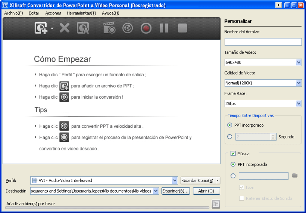 Xilisoft Powerpoint To Video Converter Descargar