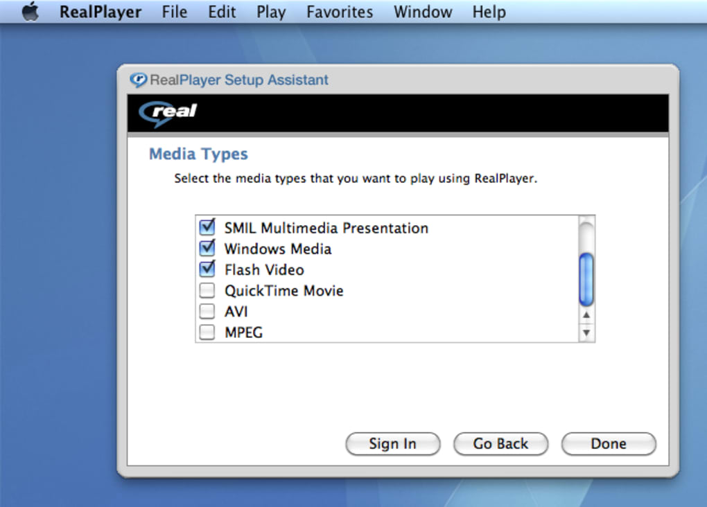 Download Realplayer For Mac Os X