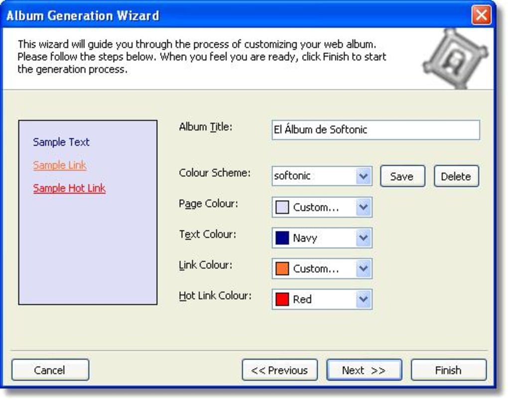 Web Album Generator - Download