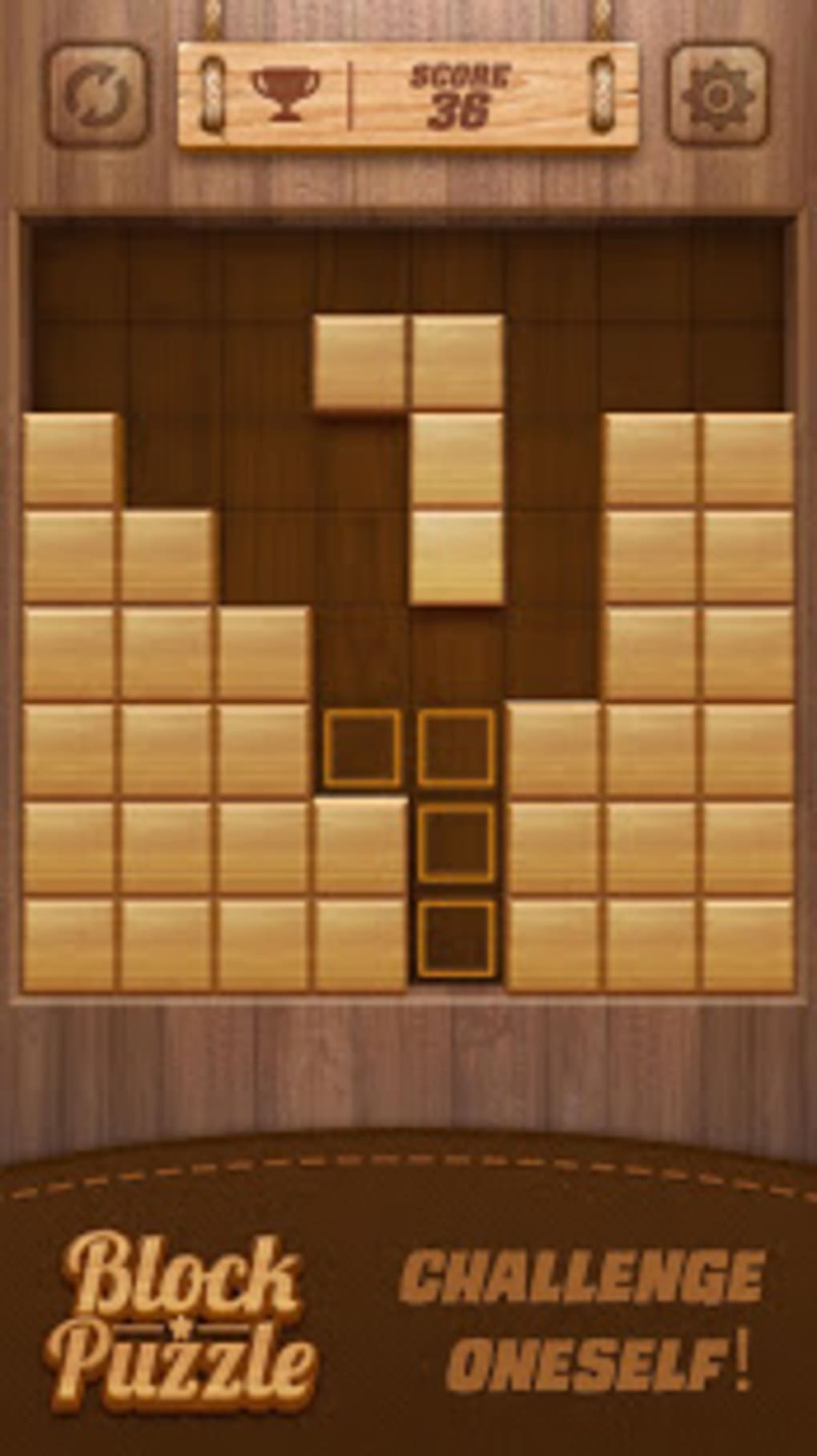 Wood Block Puzzle 3d For Android Download