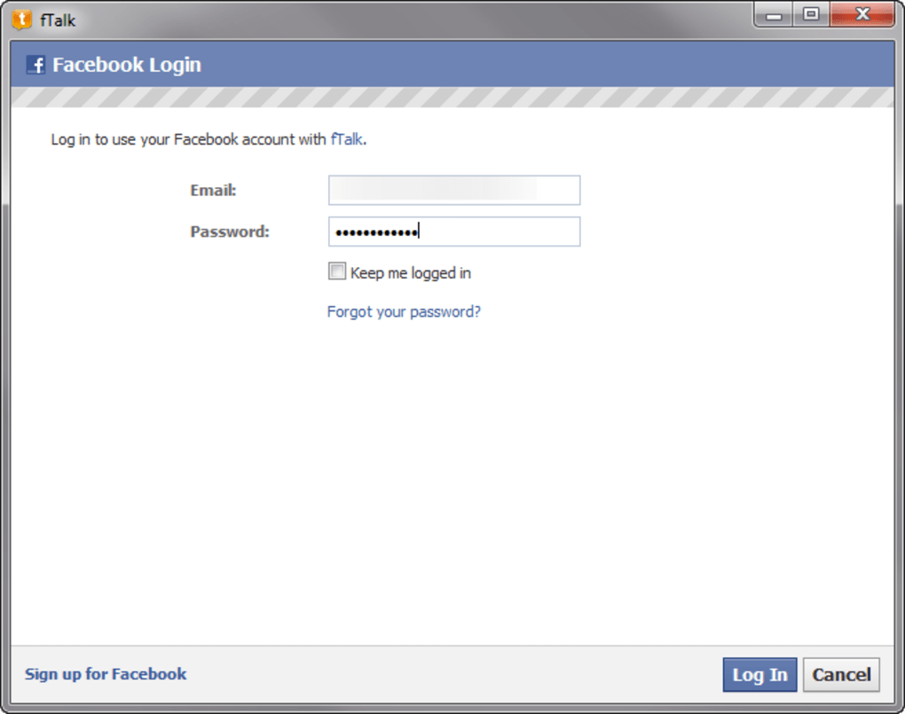 ftalk facebook gratuit softonic