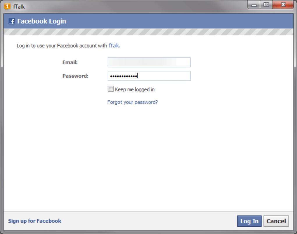ftalk facebook gratuit français