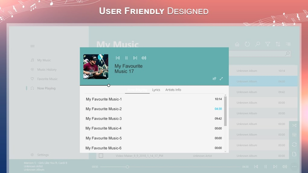 Music Player - MP3 Player, Audio Player - Download