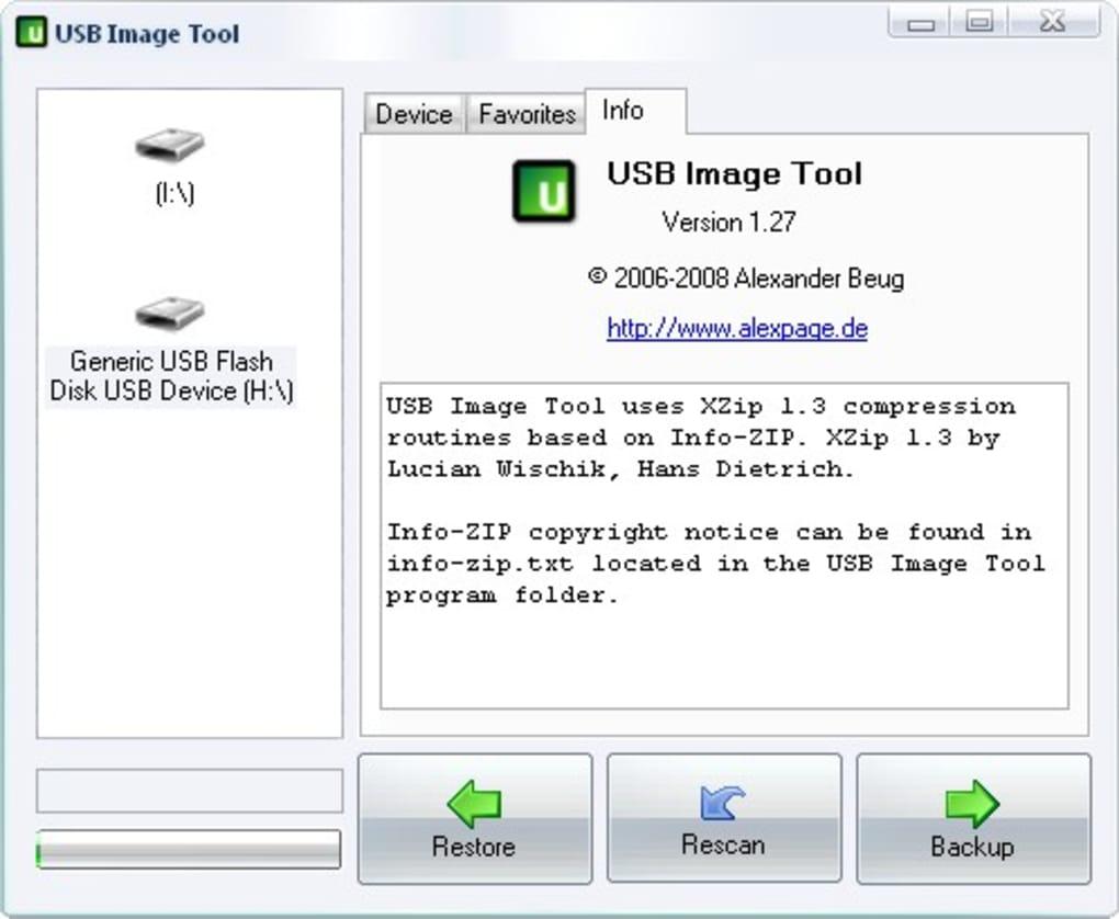 USB Image Tool - Descargar