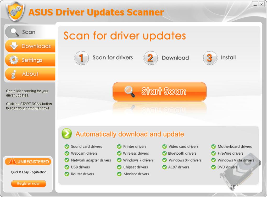 ASUS Driver Updates Scanner - Download