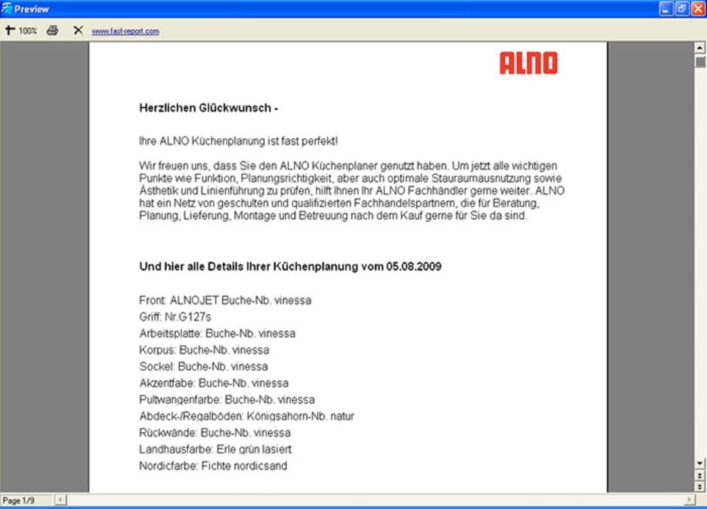Alno Kuchenplaner Download