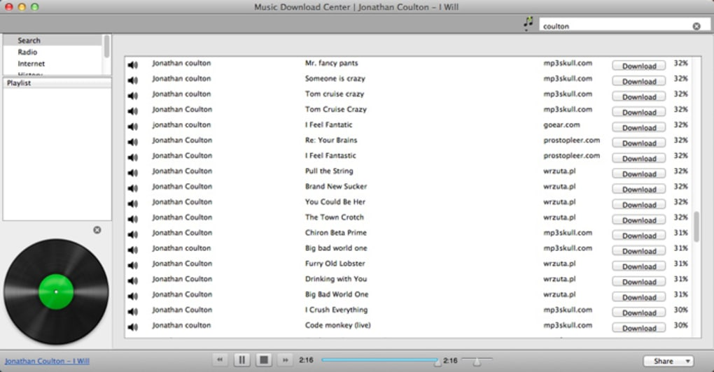 Music Download Center for Mac - Download
