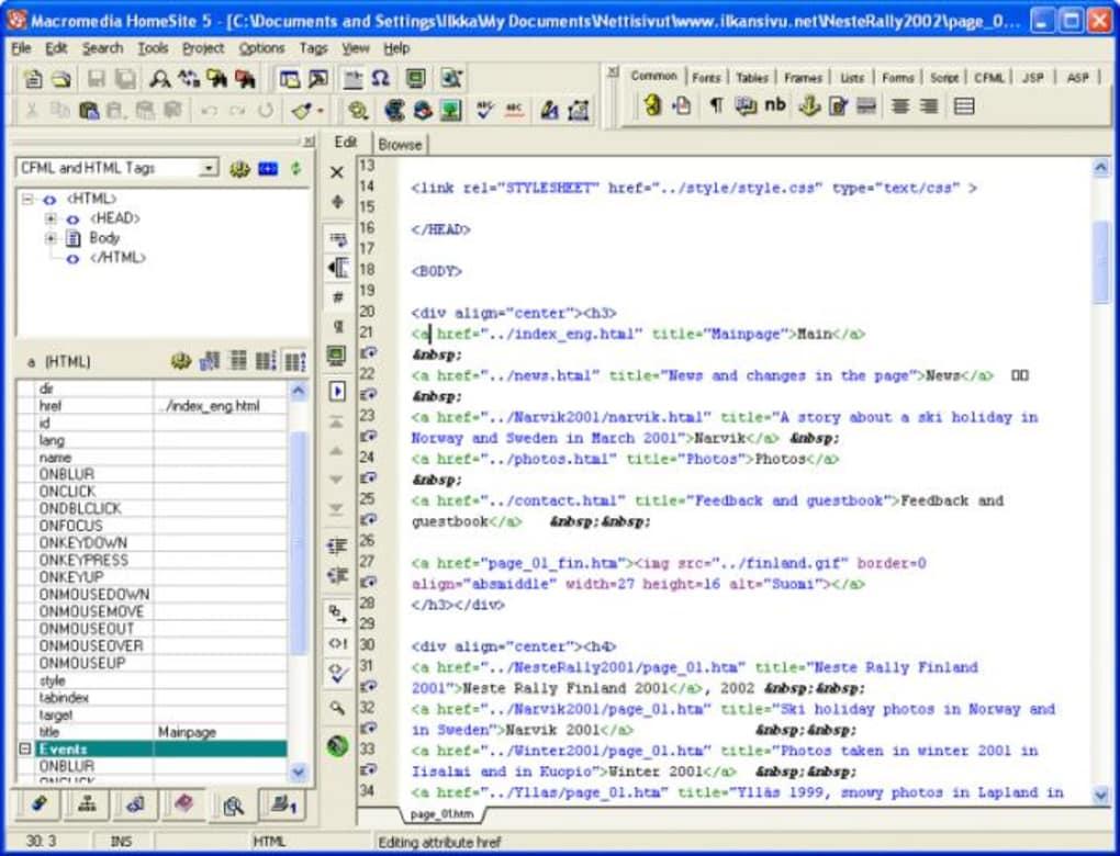 Macromedia html editor free download