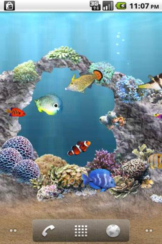 Anipet海洋水族館ライブ壁紙 無料版 For Android ダウンロード