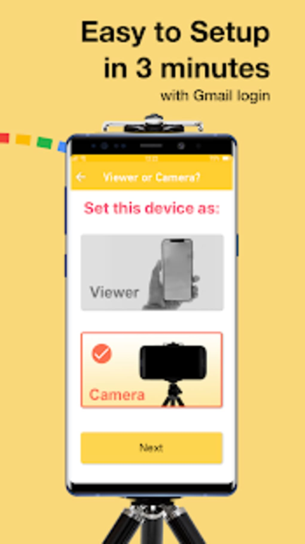 Alfred Home Security Camera for Android - Download