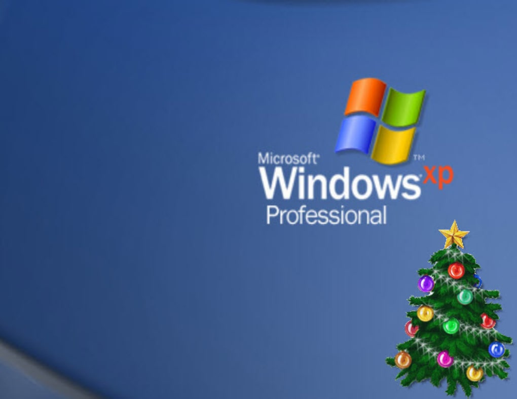 animated christmas tree for desktop screenshot