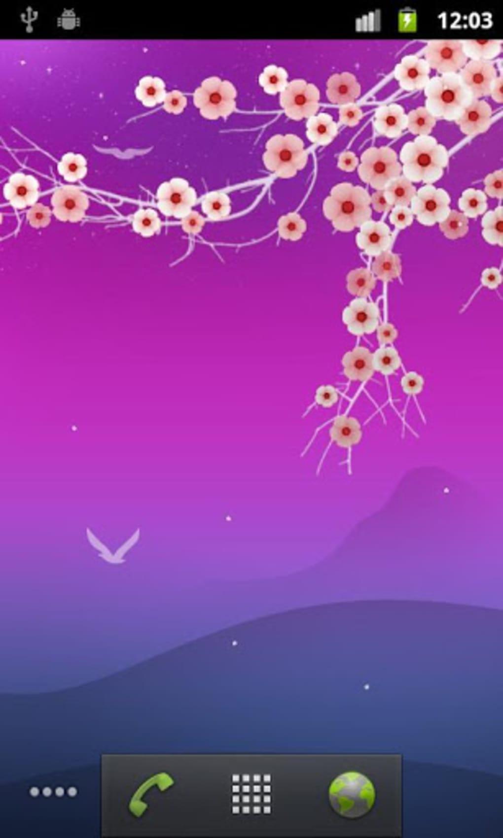 花の夜ライブ壁紙 Blooming Night For Android ダウンロード