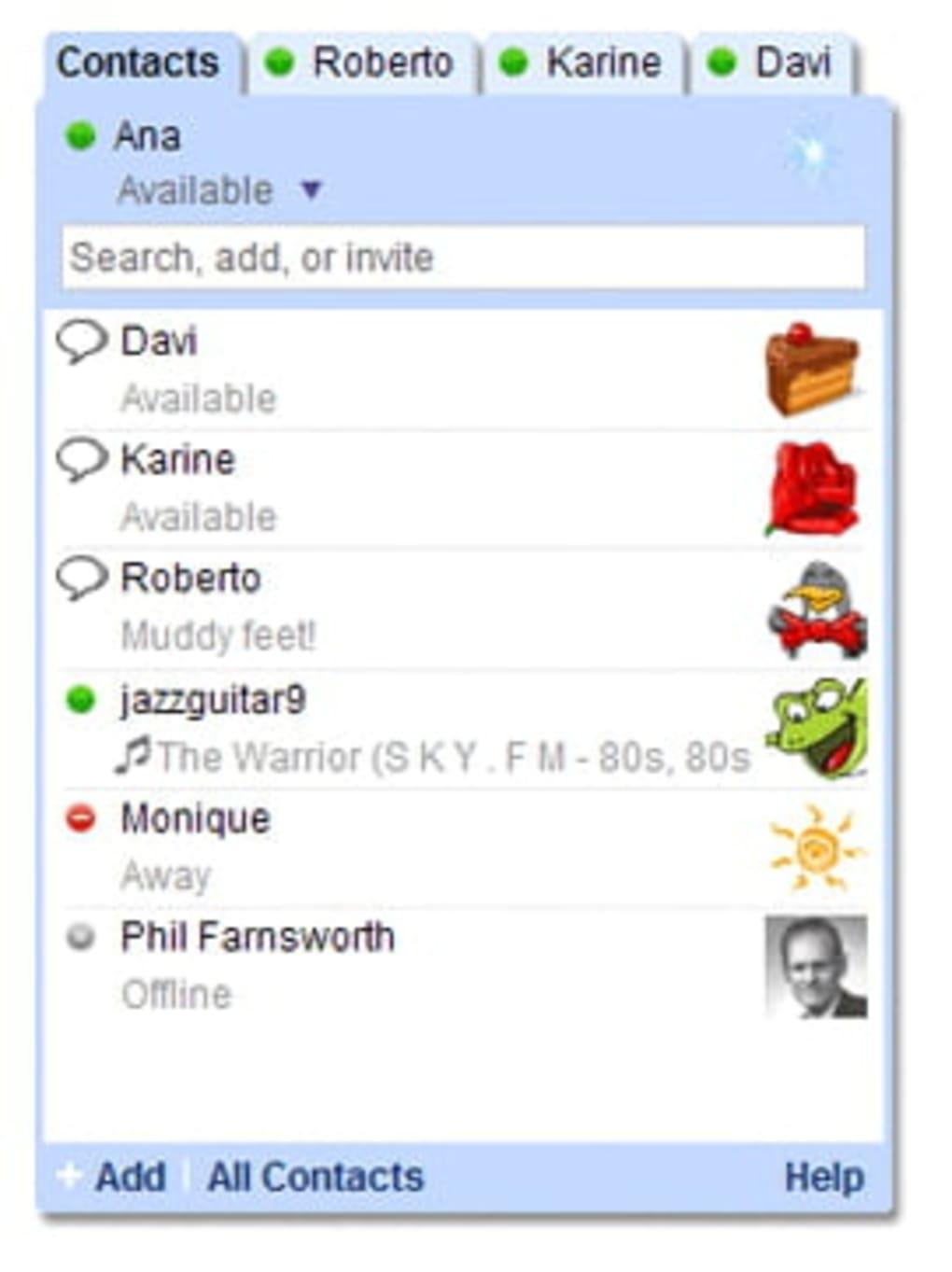 Google talk download.