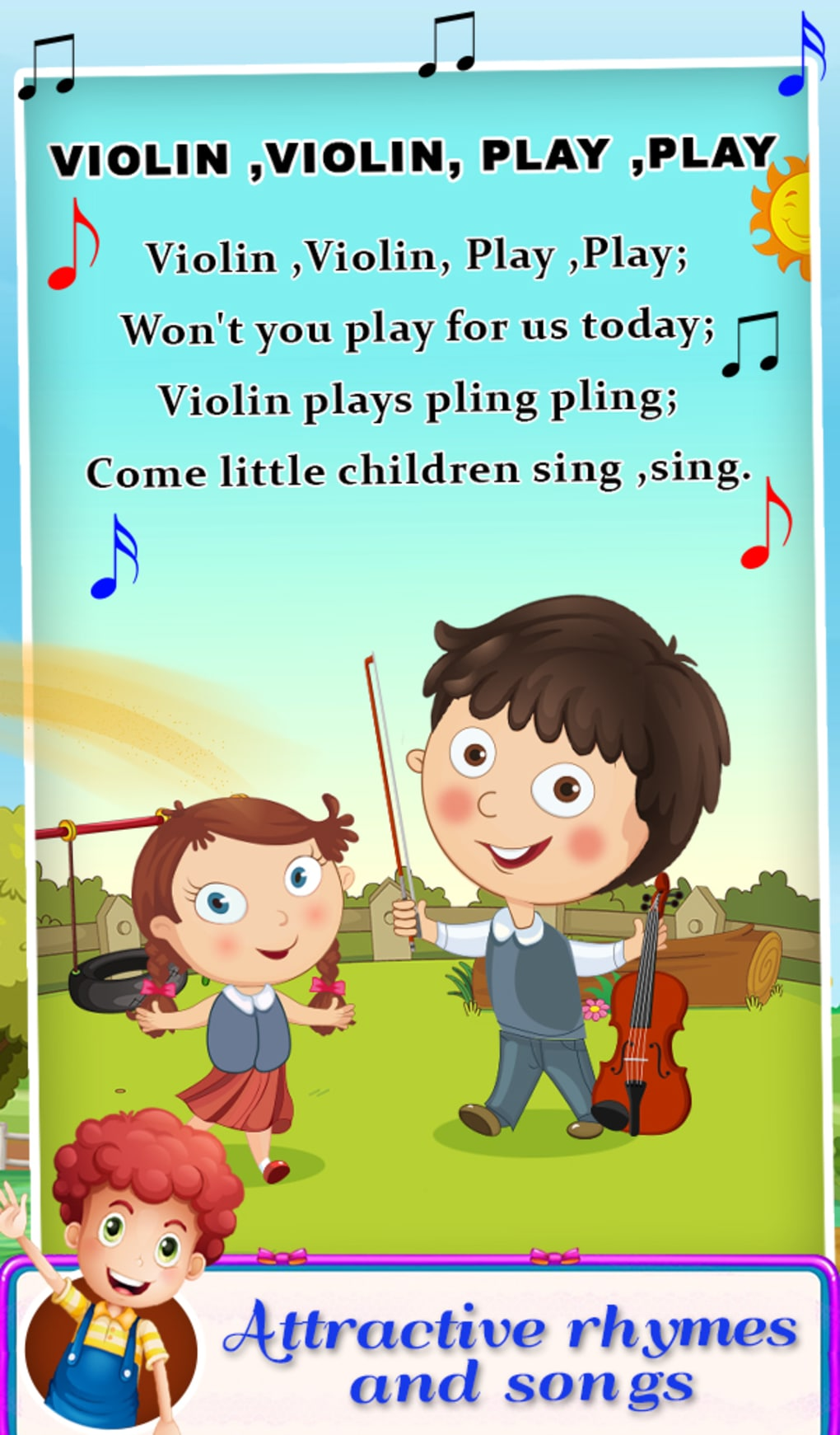 Nursery Rhymes Songs For Kids For Android Download