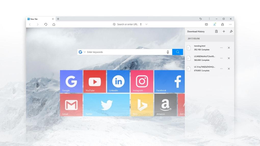 UC Browser untuk Windows - Unduh