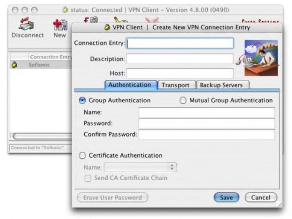 is cisco vpn client free