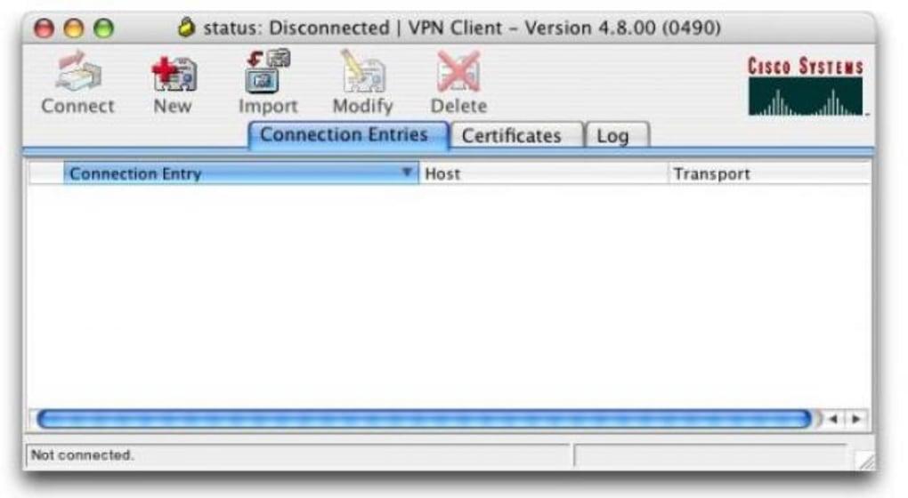 Gratis vpn client mac
