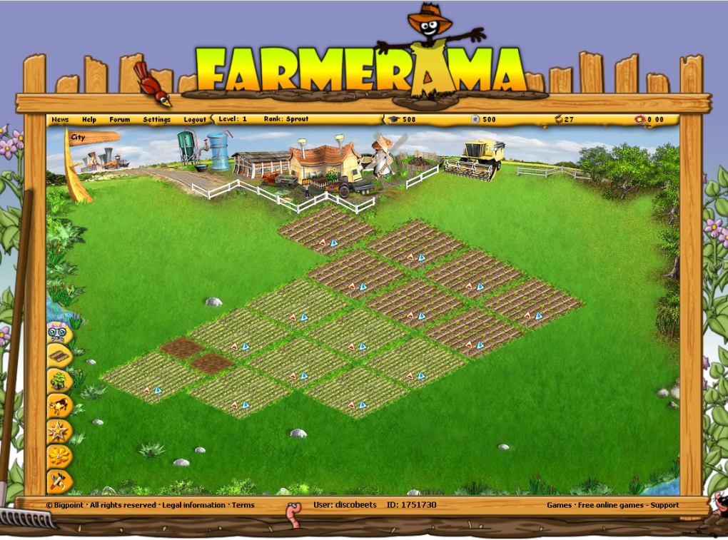 Farmerama.