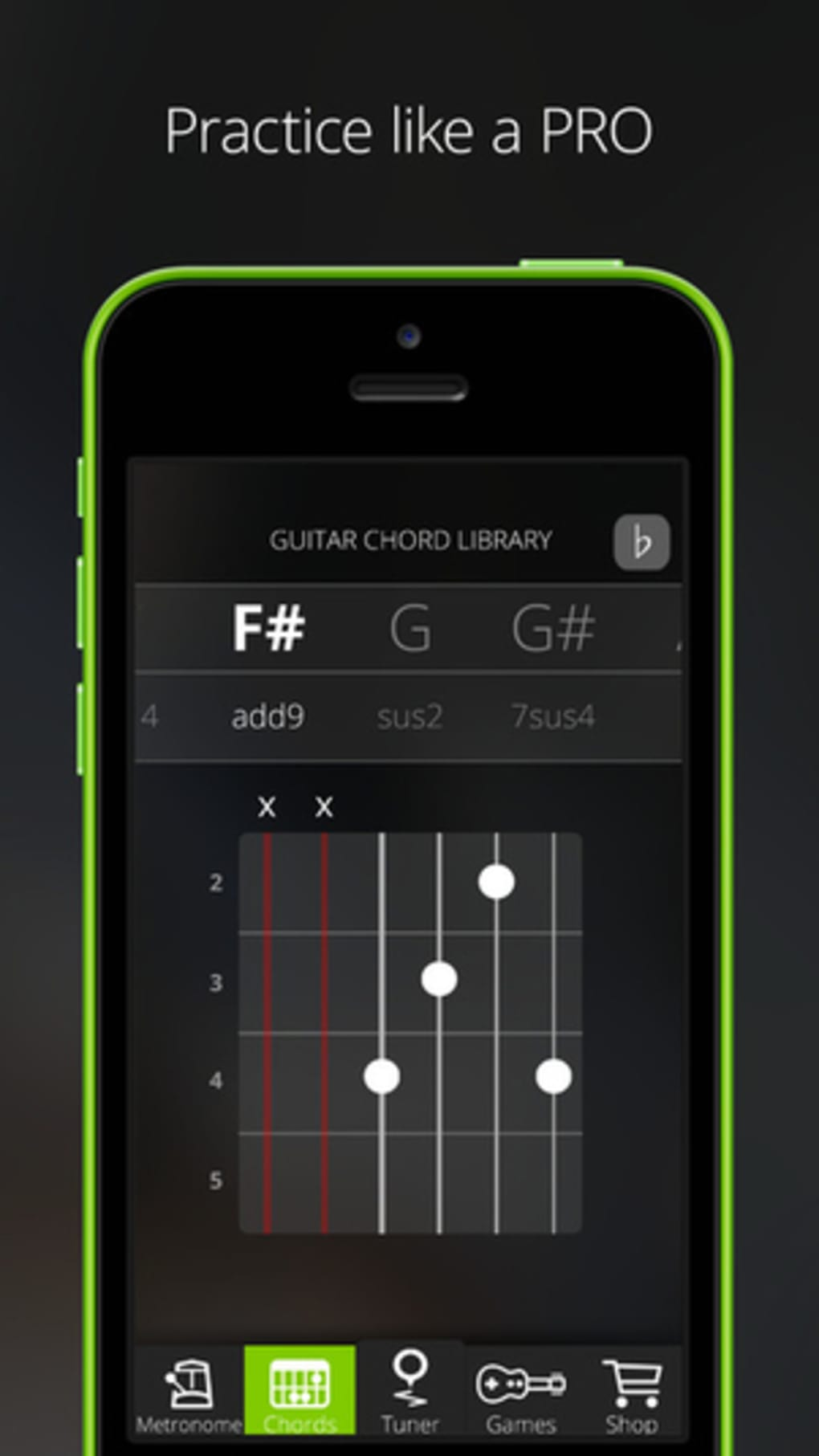 Guitartuna Tuner For Guitar Bass And Ukulele For Iphone Download