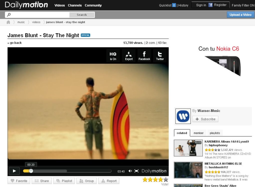 Dailymotion Online