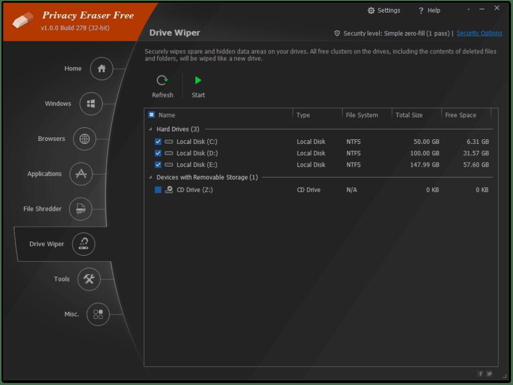 Privacy Eraser Portable - Download