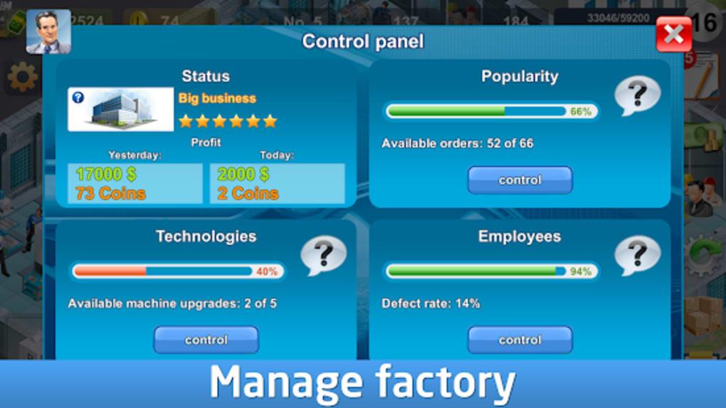 Industrialist  factory development strategy