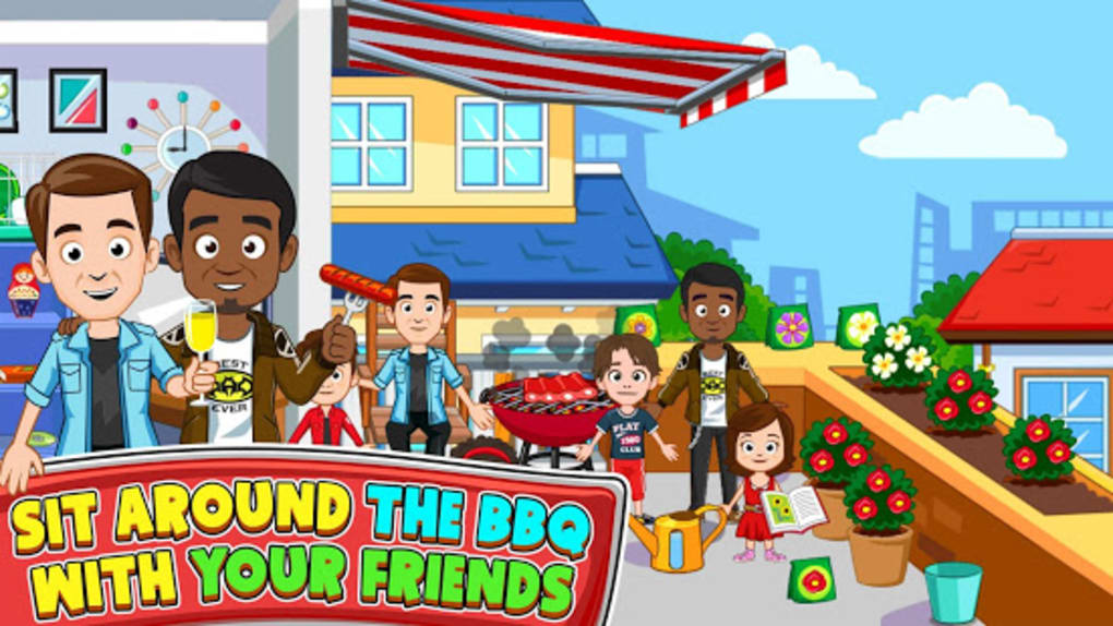 My Town : Best Friends House لنظام Android - تنزيل