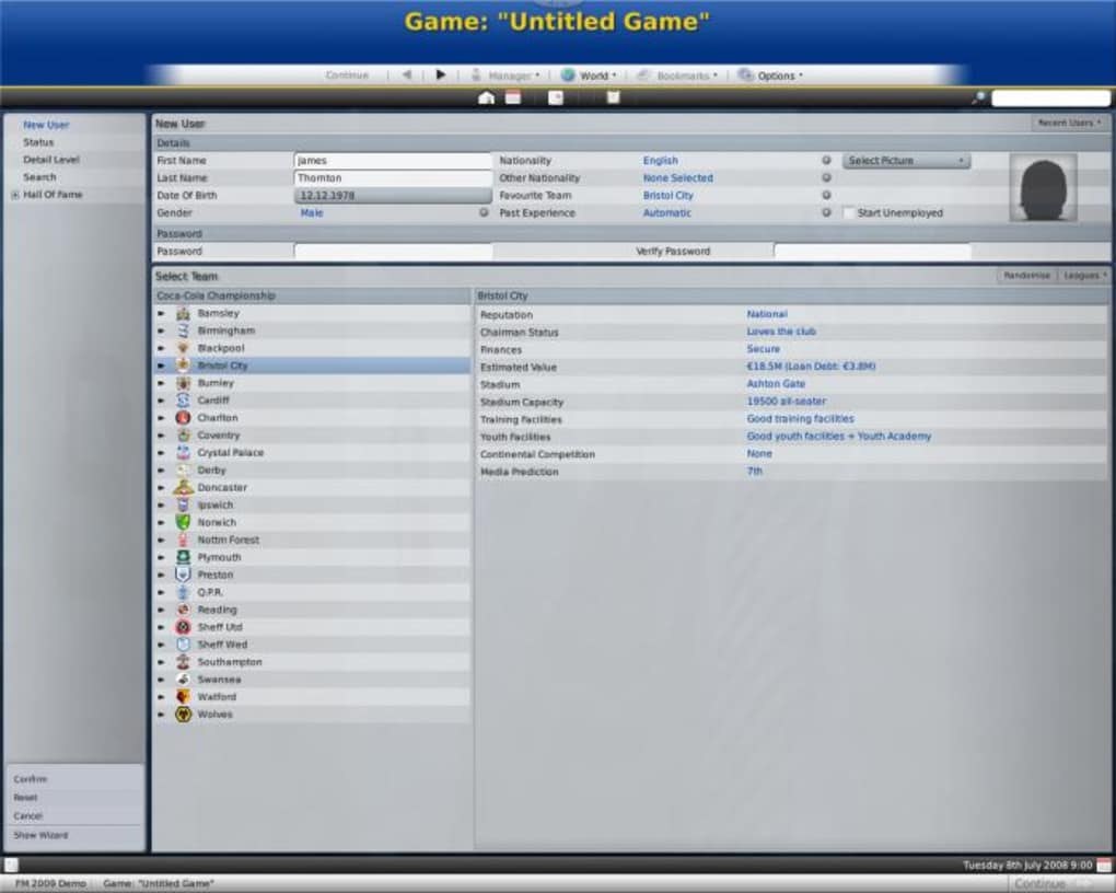free download football manager 2009 full version for pc