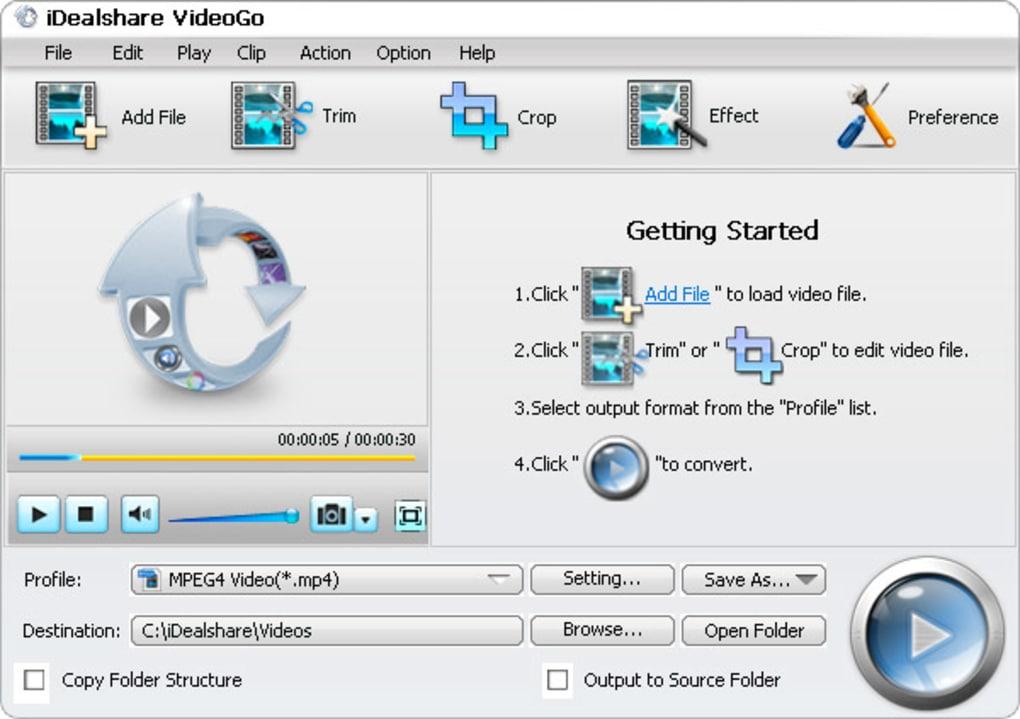 iDealshare VideoGo 6.1.1 Crack + Serial Key