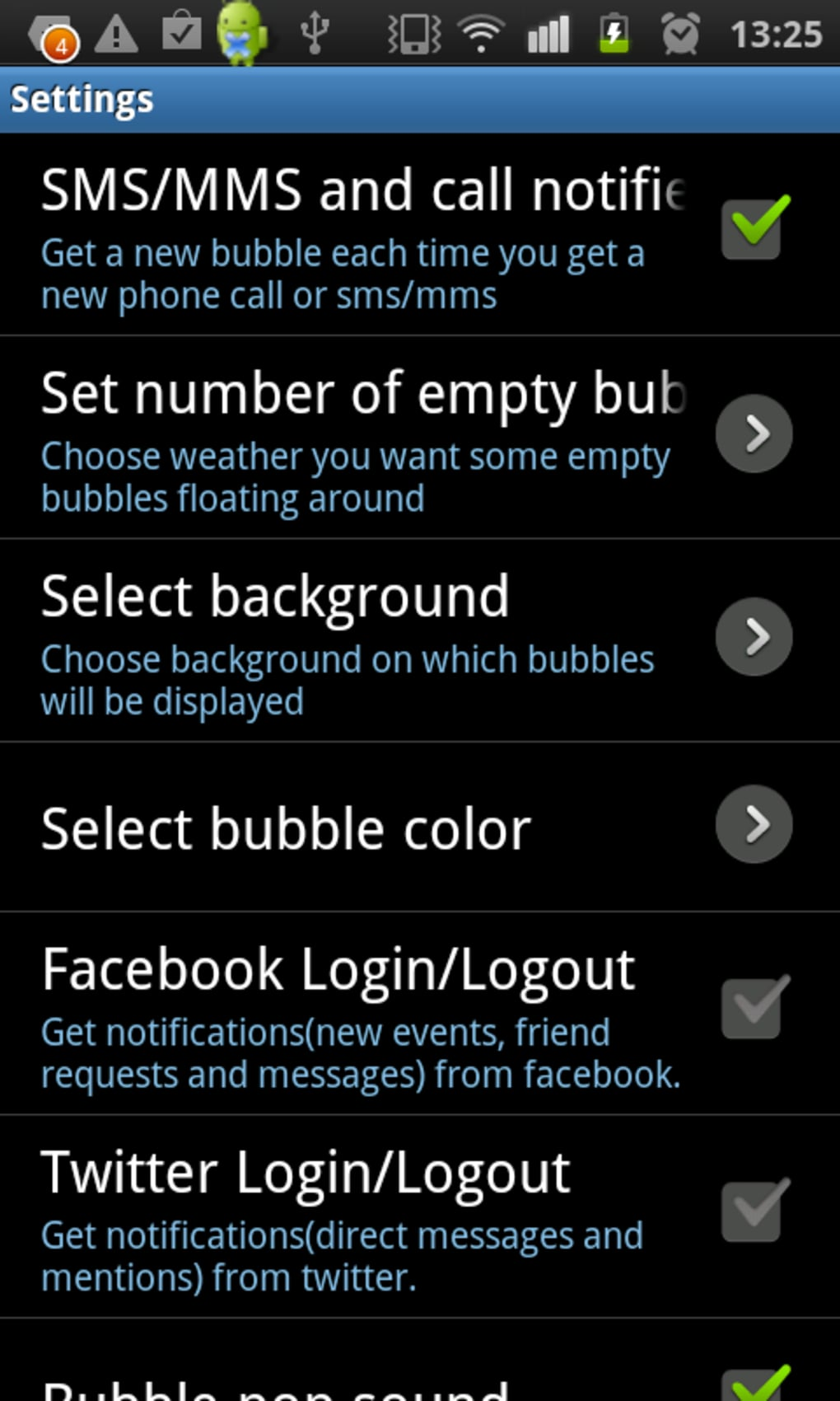 Notification Bubbles for Android - Download