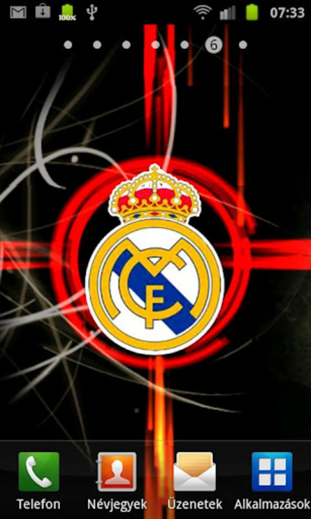 Real madrid live wallpaper para android descargar real madrid live wallpaper pros thecheapjerseys Image collections