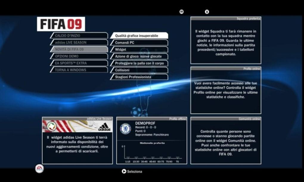 fifa 2009 demo clubic