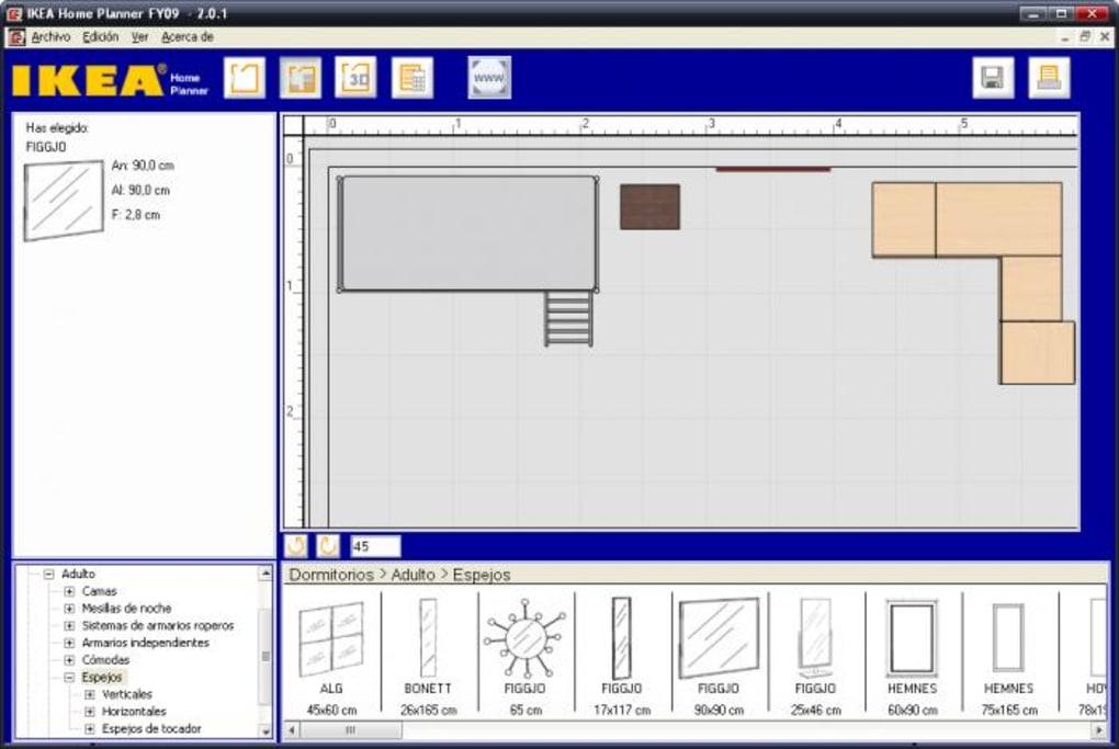 Ikea Home Planner Descargar - Disea-tu-habitacion-online