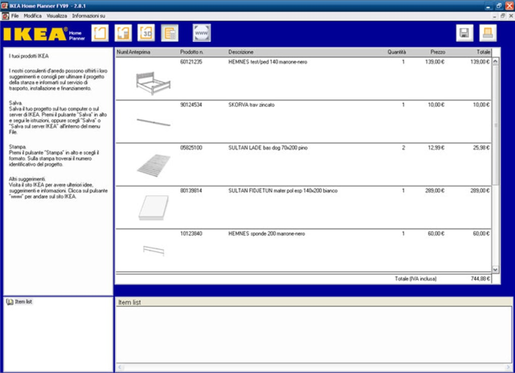 Programmi arredamento 3d gratis ikea best disegnare un for Programma di arredamento gratis