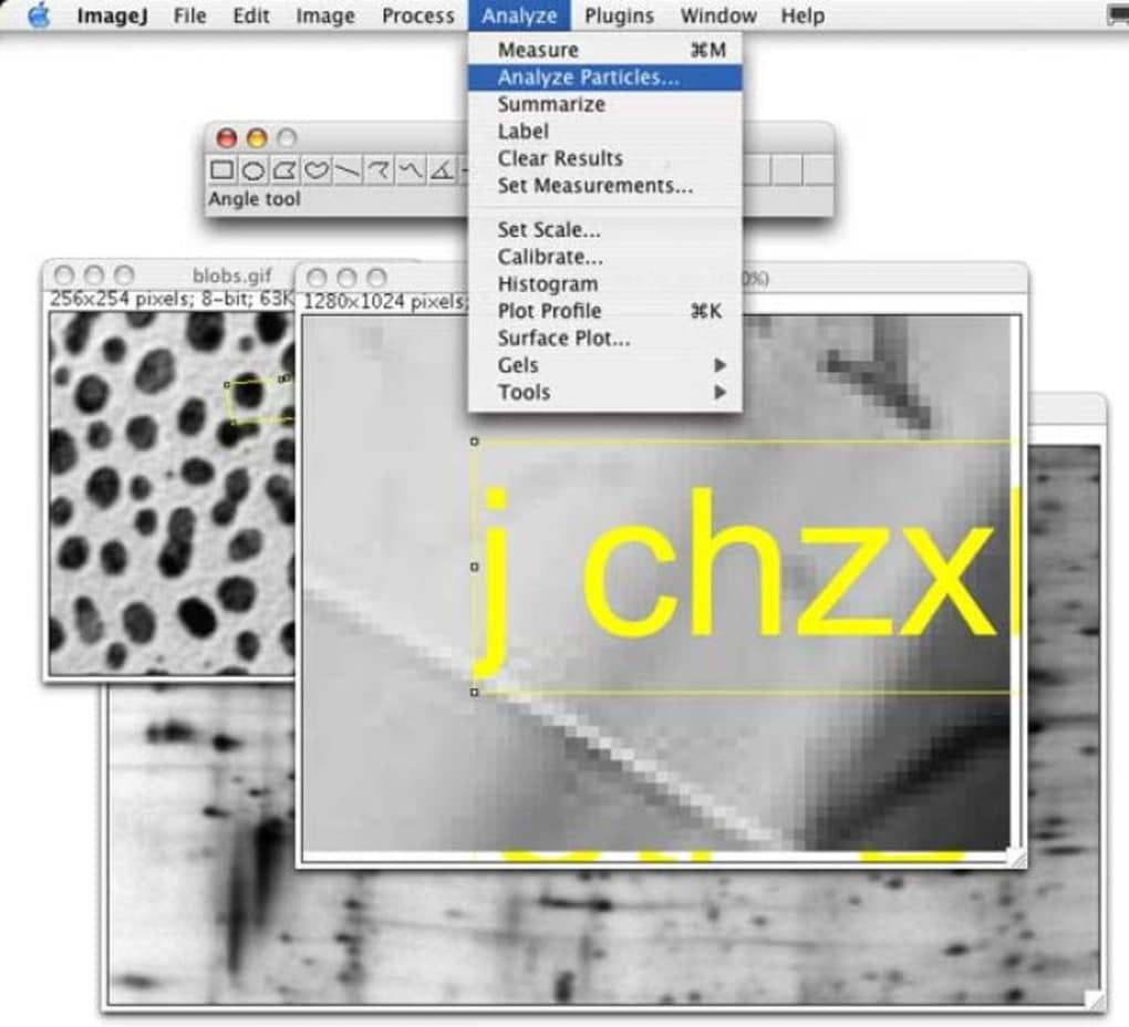 imagej pour mac