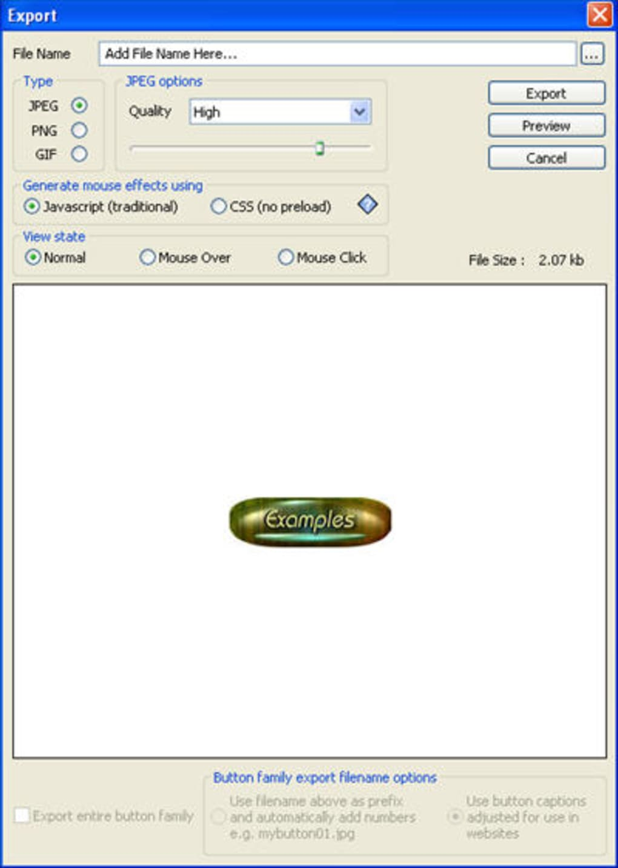 Likno Web Button Maker - Download
