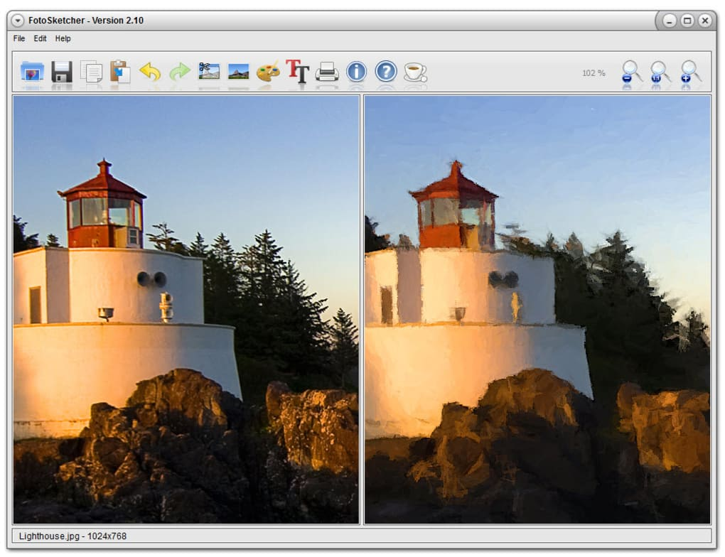 Easily create works of art from your digital photos