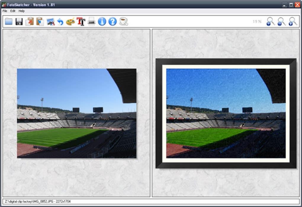 fotosketcher portable 2.10