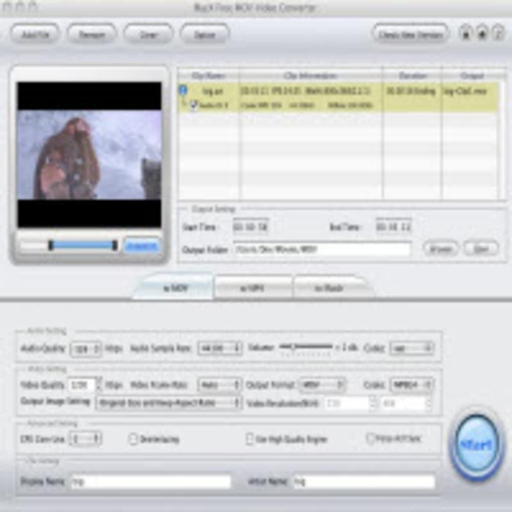 MacX Free MOV Video Converter (Mac) - Download