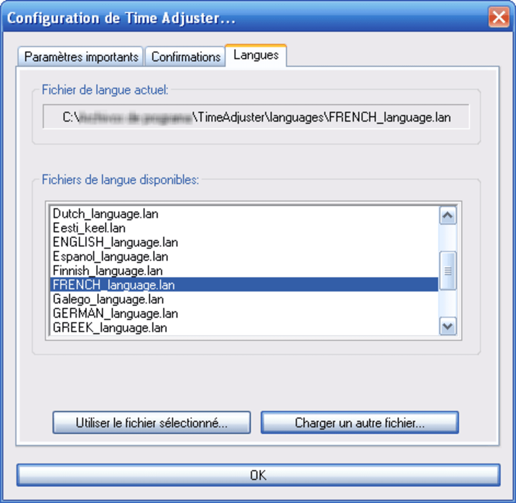 time adjuster gratuit