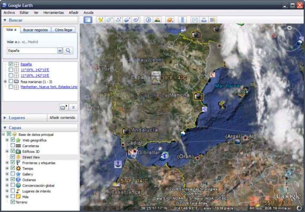 Google earth descargar pros gumiabroncs